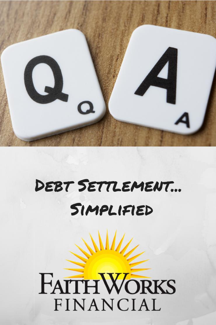 debt settlement simplified, debt settlement FAQ